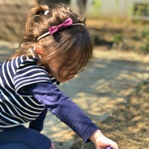 Bandeau enfant noeud papillon fait main rose motif pois blanc
